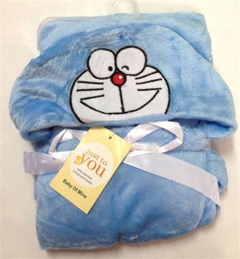 jual selimut bayi hoodie doraemon 17050170 produk smart kiddo