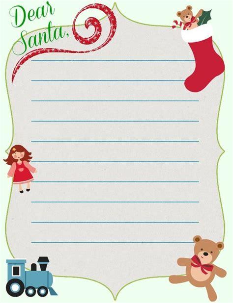 santa letter template santa letter  letter templates