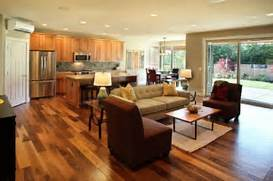 Flooring Ideas For Living Room And Kitchen by How To Style An Open Plan Living Space
