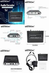 Visit To Buy  Unstincer 5 1 Ch Audio Decoder Spdif