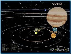 Solar system earth 3d screensaver 1.1 - Download free