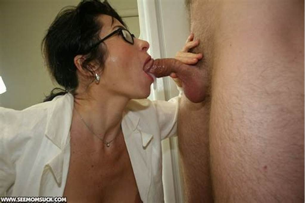#Naughty #Mature #Brunette #In #Glasses #Gets #A #Facial #Cumshot