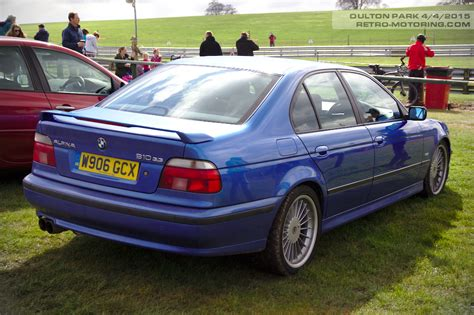 Alpina B10 3.3 Bmw E39 5-series W906gcx Oulton Park Gt And