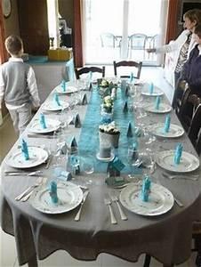 Conseils Dco De Table Bleu Et Gris Tables Mariage Et Dco