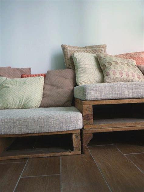 Sofa Aus Paletten  Eine Perfekte Vollendung Des Interieurs