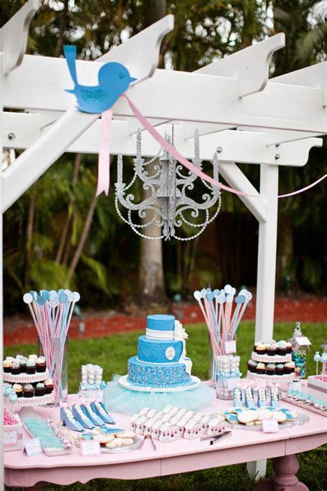 Kara's Party Ideas Disney Princess Cinderella Girl 1st