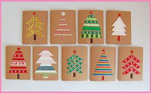 Basteln Mit Stoffresten : die 25 besten ideen zu weihnachtskarten selber machen auf ~ Lizthompson.info Haus und Dekorationen