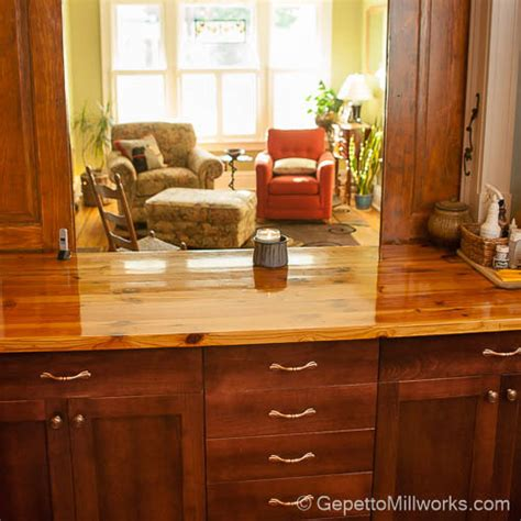 solid wood countertops richmond gepetto millworks