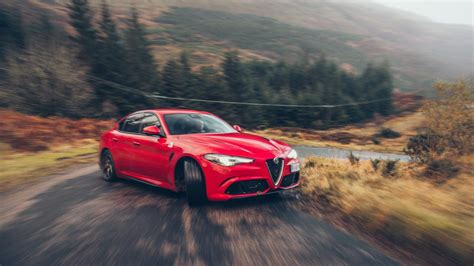 big test alfa romeo giulia  takes   uk top gear