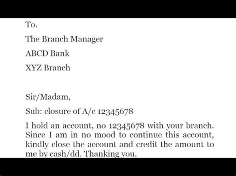 how to write a latter to the bank maneger atm apply image