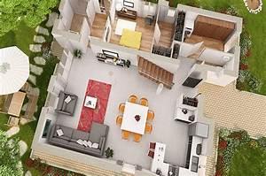 le cout des plans en 2d et en 3d With lovely logiciel de plan maison 2 cout dun architecte pour plan de maison