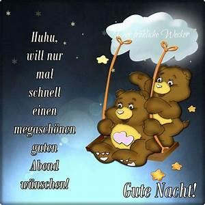 Freche Gute Nacht Bilder : pin von birgit crews auf guten abend gute nacht pinterest good night und night ~ Yasmunasinghe.com Haus und Dekorationen