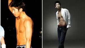 9 estrellas coreanas con los abdominales más candentes ...