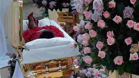 aretha franklins casket moved  museum