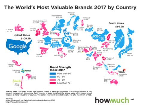 These Are The Most Powerful Brands In The World  World