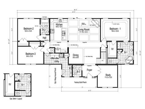Maiden Ii Manufactured Home Floor Plan  Modular
