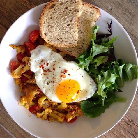 breakfast recipe ideas cauliflower breakfast bowl
