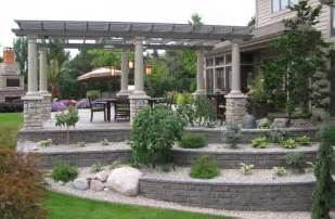 Covered Patio Bar Ideas by Backyard Patios Kitchens Amp Gardens Designed By Landscape