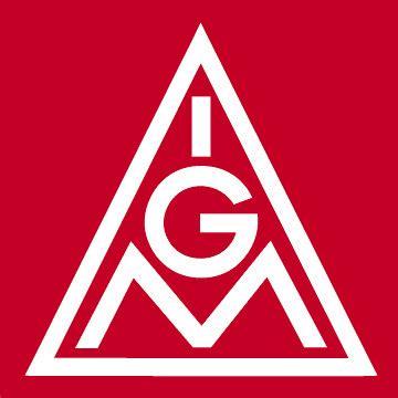 Hierbei kamen wir der ig metall als veranstalter der 1. IG Metall Logo, rot, JPG, 360 x 360 Pixel - duesseldorf ...