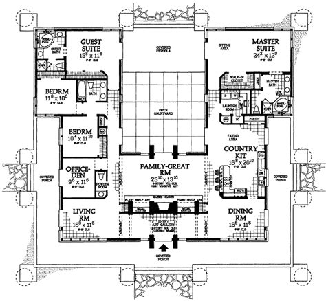 prairie house plans prairie style house plan 81313w 1st floor