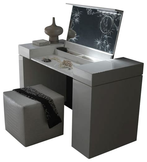 universal design bathrooms nightfly dressing table white modern dressers by inmod