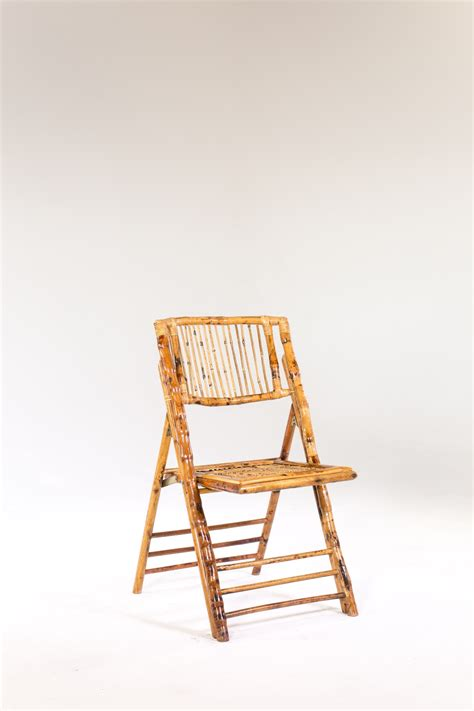 signature rentals bamboo folding chair rentals