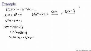Delta Funktion Integral Berechnen : the dirac delta function youtube ~ Themetempest.com Abrechnung