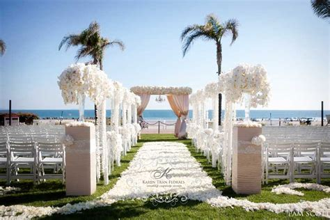 hotel coronado wedding featured in ceremony magazine