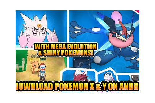 pokemon x and y game download for android
