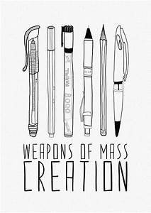 Weapons of mass creation arts crafts nerd pinterest for Weapons of mass creation