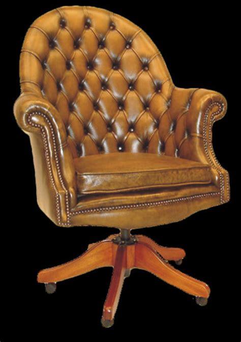 fauteuil de bureau anglais executive longfield 1880