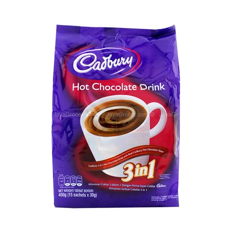 jaya grocer cadbury    hot chocolate drink fresh