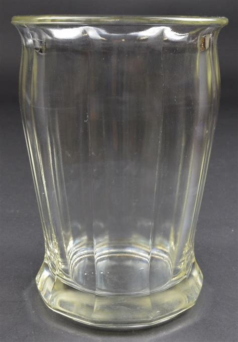 Large Glass Flower Vase by Flower Vase Clear Glass Panel Pattern Bouquet