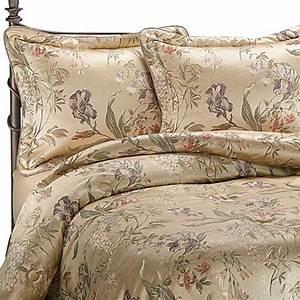 Buy croscillr california king comforter set in iris from for Croscill iris queen comforter set