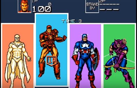Captain America And The Avengers Snes Super Nintendo Game