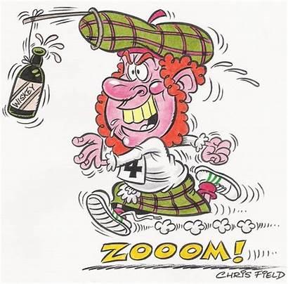 Jock Cartoon Scottish Whisky Cartoons Toonpool Sport