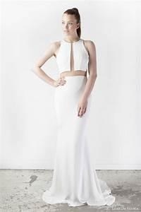 Leah da gloria spring 2015 wedding dresses wedding inspirasi for Leah da gloria wedding dress