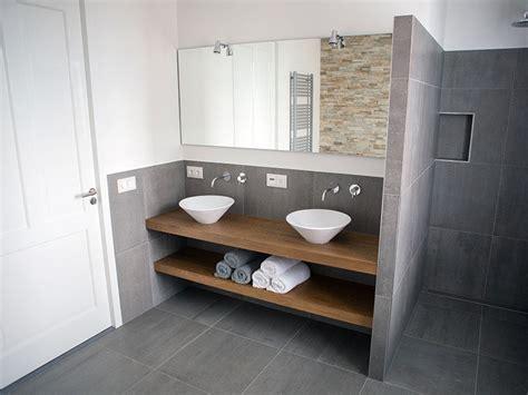 Modern Bathroom Counter Designs by Bathroom Design Idea An Open Shelf Below The Countertop