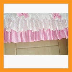 affluent ruffle valance curtain for window treatment