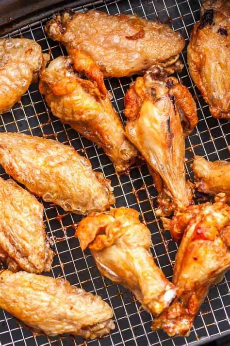wings chicken fryer air fried frozen deep crispy oven cooking extra cook recipes wing airfryer baking frying easy recipe platedcravings