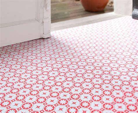 Vinyl Flooring With Flower Design   Joy Studio Design