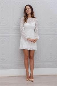 Robe De Mariee Courte : 20 robes de mari e courtes de cr ateurs ~ Preciouscoupons.com Idées de Décoration