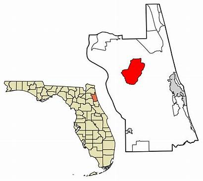 Highlighted Unincorporated Johns Incorporated Areas Village Florida