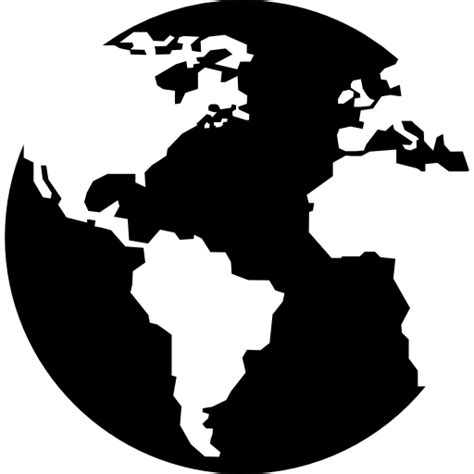 foto de Earth globe with continents maps free vector icons