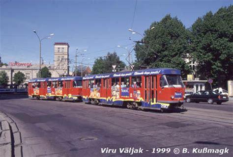 UrbanRail.Net > Europe > Estonia > Tallinn Tram