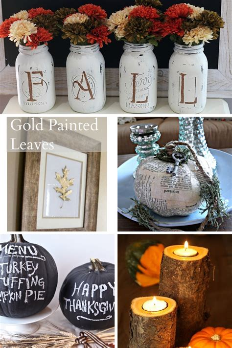 easy fall diy projects financial food  thought