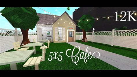 Bloxburg cafe picture id's (working 2018) hey guys today i'm showing you all of roblox bloxburg picture id's i could find thx for. Bloxburg: 5x5 Cafe 12K (SpeedBuild) - YouTube