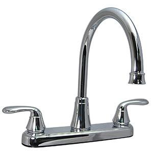 bone colored kitchen faucets rb5662 faucet kitchen 8 quot 2 handle hi rise bone 4860