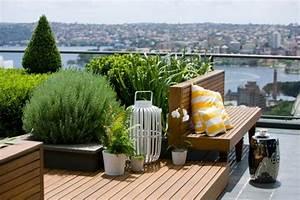 Pflanzen Für Dachterrasse : coole ideen f r erstaunliche dachterrasse ein richtiger ~ Michelbontemps.com Haus und Dekorationen