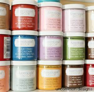 Americana Decor Chalky Finish Paint by A L Update Chalky Finish Paint By Americana Decor